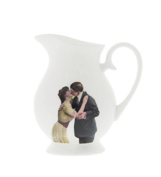 Kissing Couple Cream Jug, Melody Rose - CultureLabel - 1