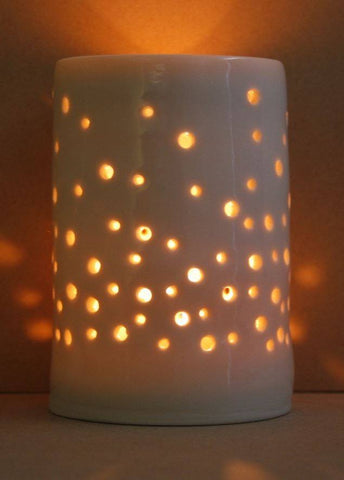 Champagne Maxi Tealight Holder, Luna Lighting - CultureLabel