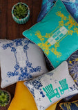 Trinidad Cushion (Clear Day), KOUAMO - CultureLabel - 2
