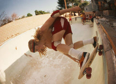 Stacy Peralta Ripping at Coldwater Canyon Pool, Hugh Holland Alternate View
