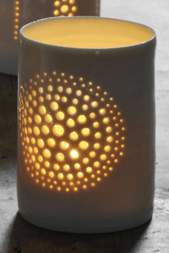 Dandelion Maxi Tealight Holder, Luna Lighting - CultureLabel - 1