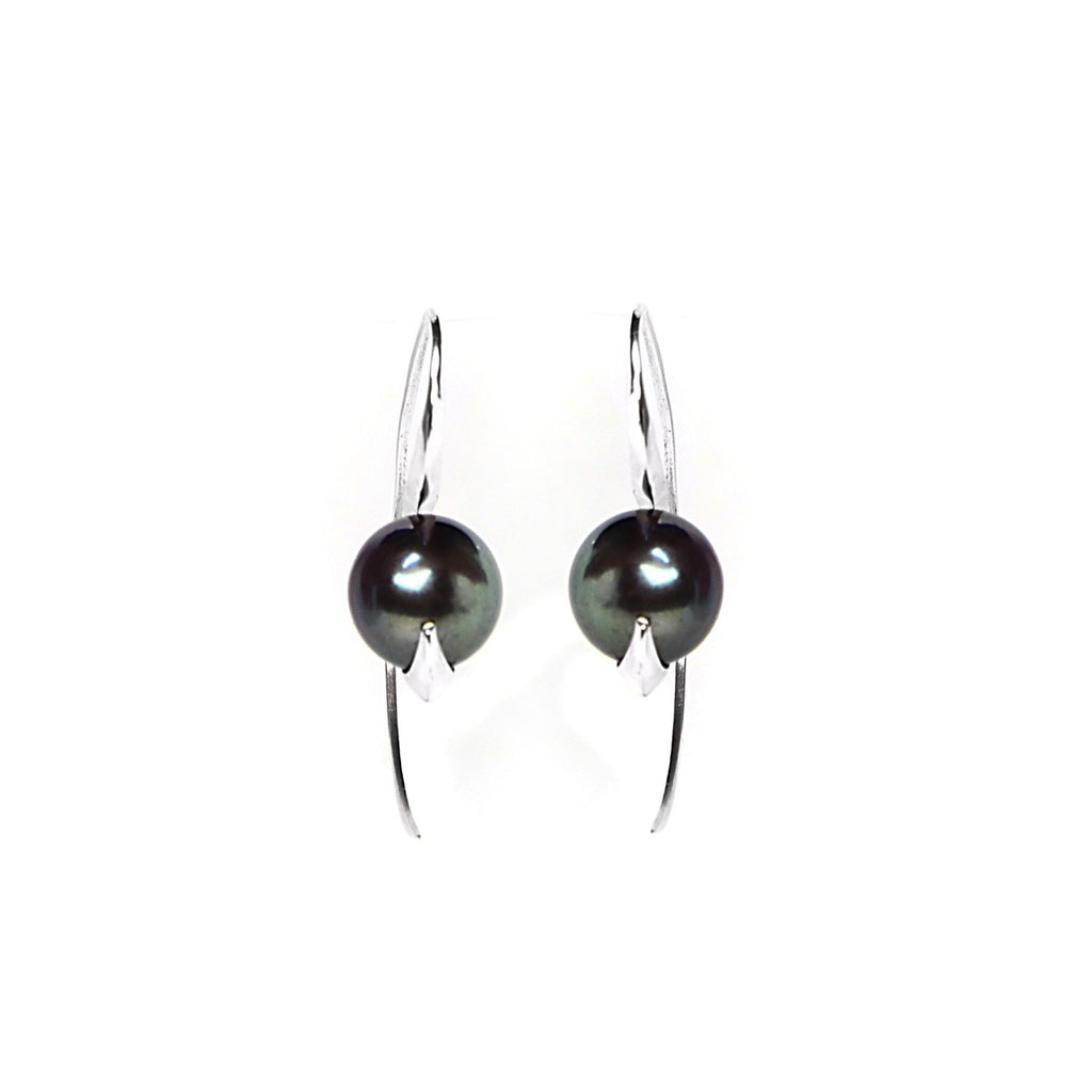 Cathy Pearl & Silver Earrings, Lee Renée - CultureLabel - 1
