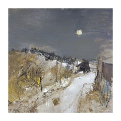 Catterline in Winter by Joan Eardley Christmas Card Pack (10 Cards), National Galleries of Scotland