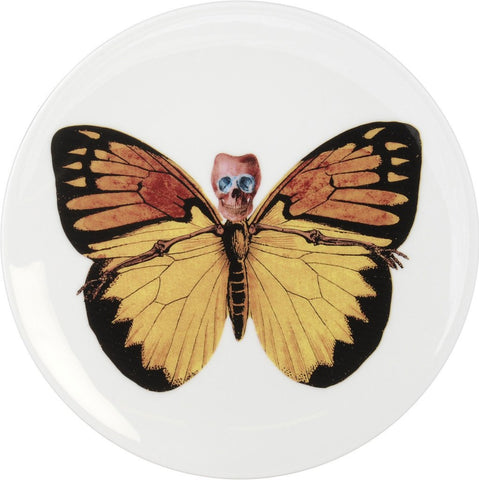 Lepidoptera Croceus Cake Plate, The New English - CultureLabel