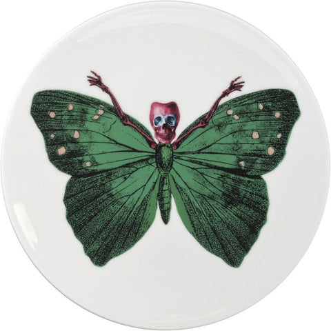 Lepidoptera Crudus Cake Plate, The New English - CultureLabel