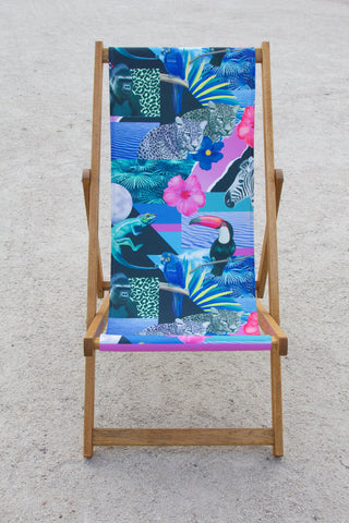 Twilight Jungle Deckchair, Yoko Honda - CultureLabel - 1