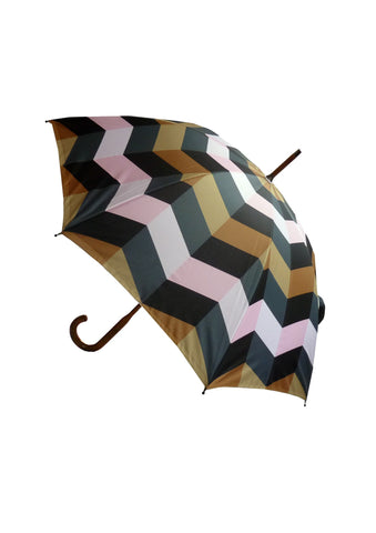 Walking Stick Umbrella Print U11, David David Alternate View