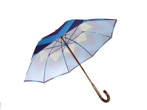 Walking Stick Umbrella Print U5, David David Alternate View
