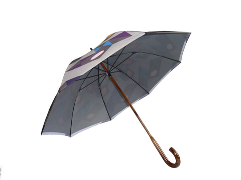 Walking Stick Umbrella Print U7, David David Alternate View