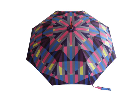 Walking Stick Umbrella Print U9, David David