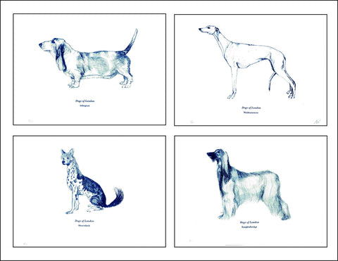 Dogs of London Screen Prints, Anna Walsh - CultureLabel