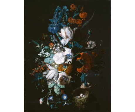 Placemat: Vase with Flowers, Dulwich Picture Gallery Alternate View