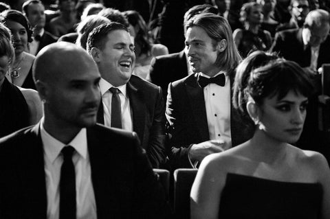 Jonah Hill and Brad Pitt, BAFTA - CultureLabel - 1