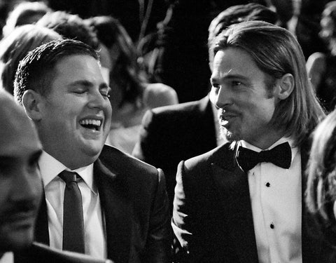 Jonah Hill and Brad Pitt, BAFTA Alternate View