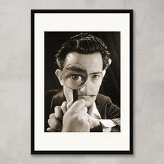 Portrait of Salvador Dali, c.1940, Bridgeman Images