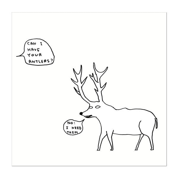 David Shrigley Christmas Card Pack (10 Cards), National Galleries of Scotland - CultureLabel - 1