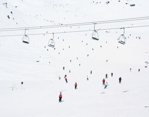 Crowded Slopes II, Dede Johnston