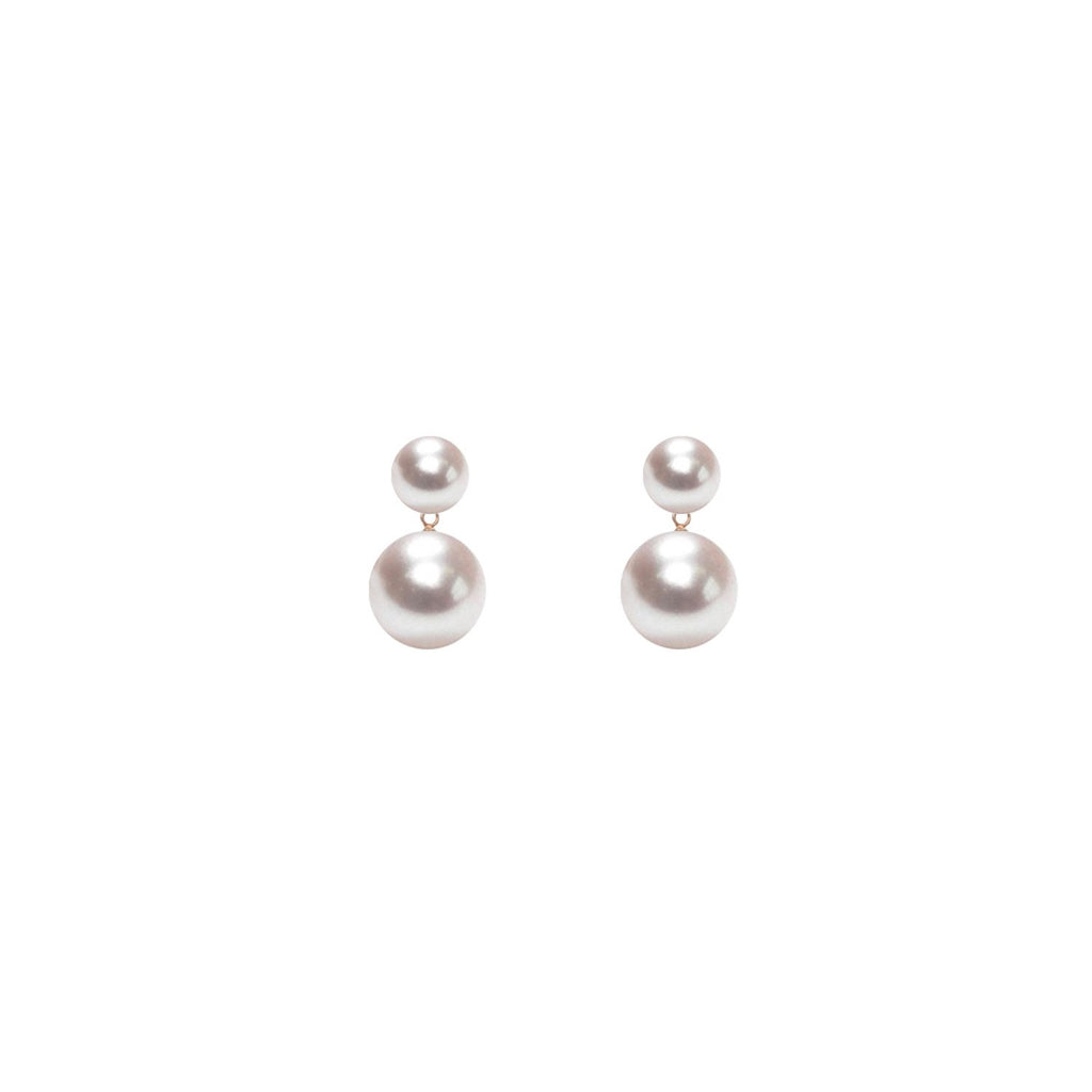 Duet Pearl Earrings, ORA Pearls - CultureLabel - 1