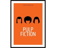 Pulp Fiction Framed, Pedro Vidotto Alternate View