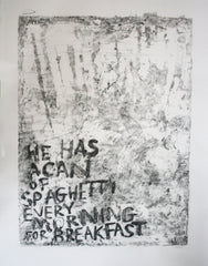 A Can of Spaghetti, Janet Milner