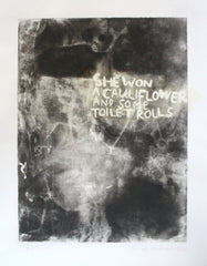 Cauliflower and Toilet Rolls, Janet Milner