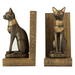 Egyptian Cat Bookends, The British Museum