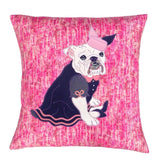 Emily the Bulldog Cushion, Mia Loves Jay - CultureLabel
