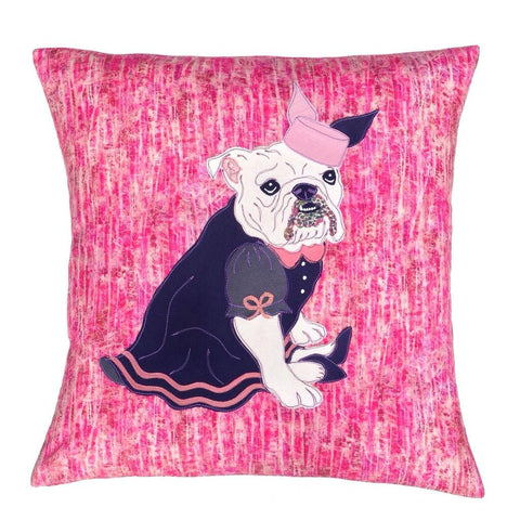 Emily the Bulldog Cushion, Mia Loves Jay