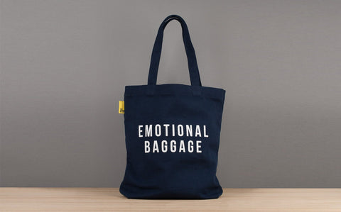 Emotional Baggage Tote: Khaki, The School of Life Alternate View