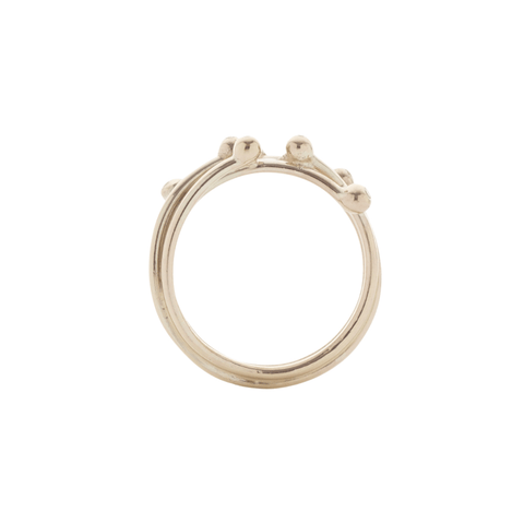 Entwine Gold and Diamond Ring, Yen Jewellery Alternate View