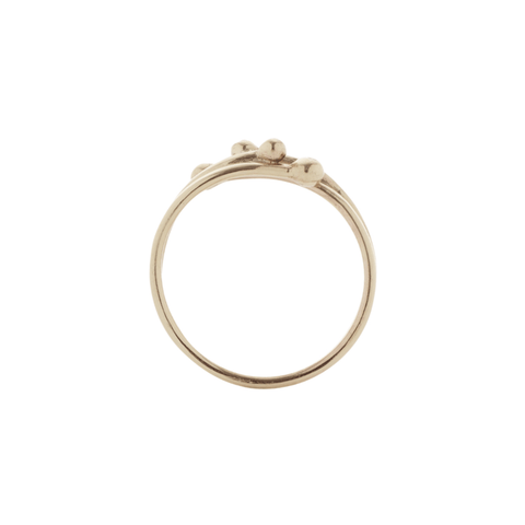Entwine Simple Diamond Ring, Yen Jewellery Alternate View