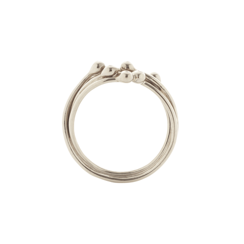 Entwine White Gold and Diamond Ring, Yen Jewellery Alternate View