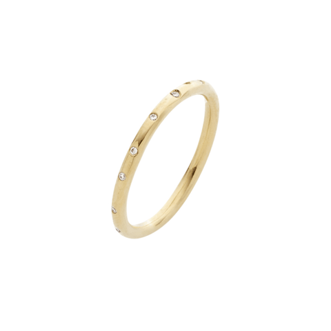 Gold Eternity Band, Yen Jewellery - CultureLabel - 1