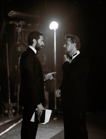 Hugh Jackman and Russell Crowe, BAFTA - CultureLabel - 1