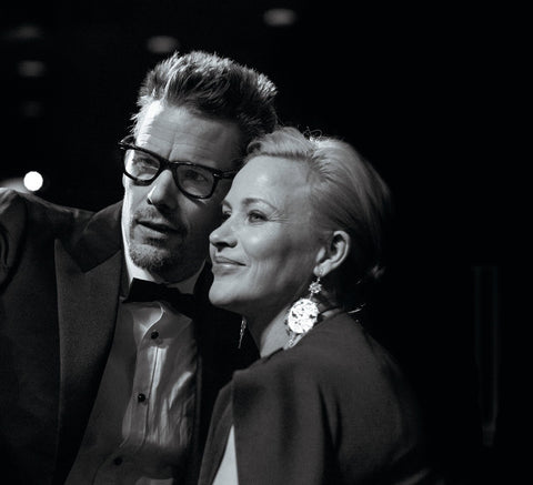 Ethan Hawke and Patricia Arquette, BAFTA Alternate View