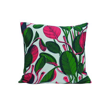 Large Calathea Cushion - Neon, Fanny Shorter - CultureLabel - 1