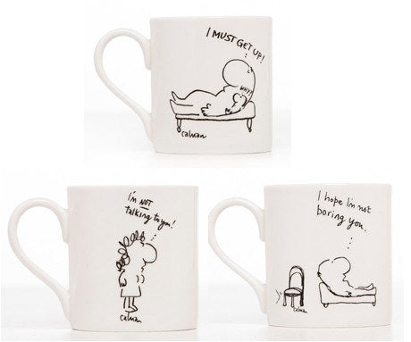 Set of Calman Mugs, The Freud Museum