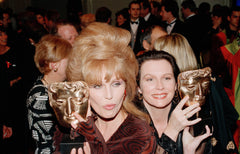 Jennifer Saunders and Joanna Lumley, BAFTA