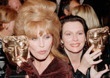 Jennifer Saunders and Joanna Lumley, BAFTA - CultureLabel - 2