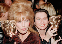 Jennifer Saunders and Joanna Lumley, BAFTA Alternate View