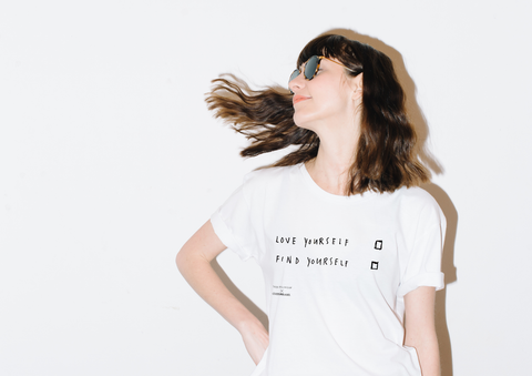 Love Yourself Find Yourself Unisex T-Shirt, David Shillinglaw x Mind
