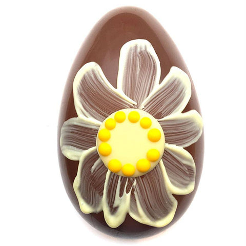 Flower Egg - Milk Chocolate, Melt - CultureLabel - 1