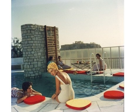 Penthouse Pool, Slim Aarons - CultureLabel