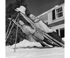 New England Skiing, Slim Aarons