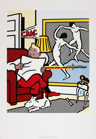 Tintin Reading, Roy Lichtenstein - CultureLabel - 1