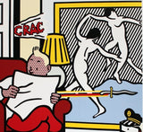 Tintin Reading, Roy Lichtenstein - CultureLabel - 2
