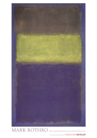 No. 2/No.30, Mark Rothko - CultureLabel