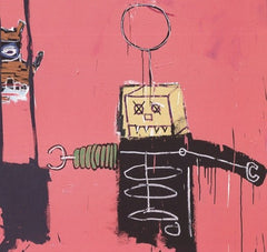 Molasses, Jean-Michel Basquiat Alternate View