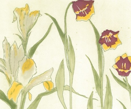 Irises. lillies. tulips, Elizabeth Blackadder Alternate View