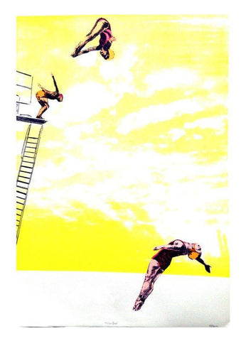 Yellow Divers, 2016, Anna Marrow - CultureLabel - 1